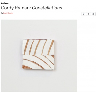 Cordy Ryman: Constellations