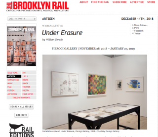 Samuel Jablon featured in Brooklyn Rail
