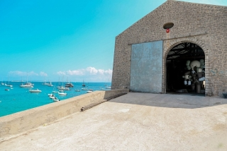 Collector turns Ibiza salt warehouse into Modern art gallery