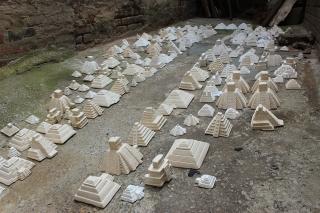 "Liene Bosquê's exhibition ""Suspended Memories"" at Syracuse University"