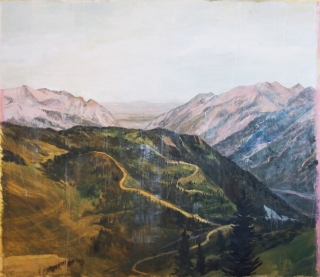 Tom Judd, Little Cottonwood, 2015, oil on canvas, 84 x 72 inches