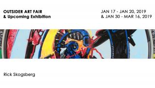 OUTSIDER ART FAIR & Upcoming Exhibition