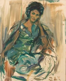 Elaine de Kooning, 1962