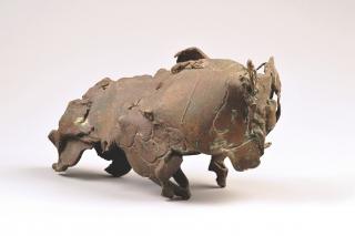 Elaine de Kooning, Charging Bull, 1964