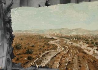Demiak Escapism II Tunis 2015 painting peinture