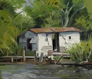 Demiak Memoirs of loss XIII 2015 painting peinture