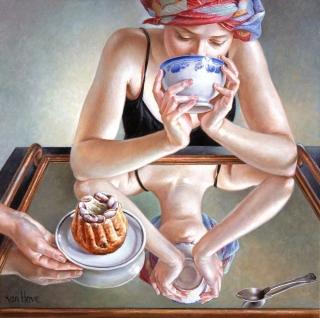 Francine Van Hove Le Petit Kougelhopf 2015 painting peinture