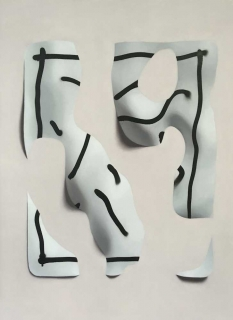 Marcos Uriondo Jeux de mains Papier 2019 peinture painting