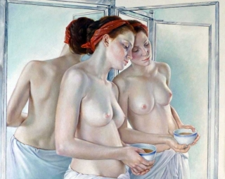 Francine Van Hove Plurielle 2014 painting peinture