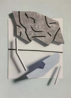 Marcos Uriondo Jeu de mains Pierre 2019 peinture painting