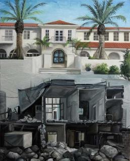 Demiak Escapism XIV 2017 painting peinture