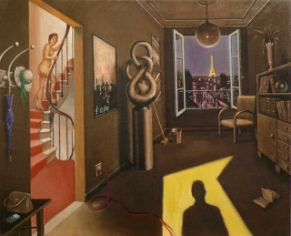 Sergio Ceccotti Clair-obscur 2008 painting peinture