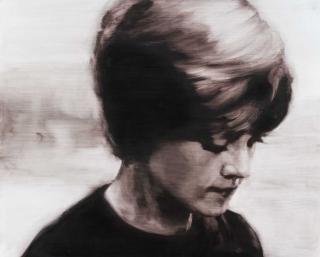 María Dávila Absence I 2015 Dramatis personae painting peinture