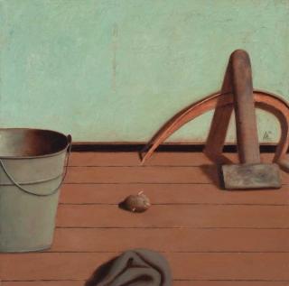 Ivan Lubennikov Loubennikov Pause 2017  painting peinture