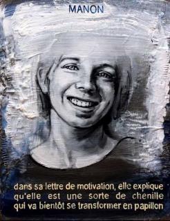 Pierre Lamalattie Manon 2014 curriculum vitae painting peinture
