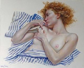 Francine Van Hove Le Marque page 2011 painting peinture