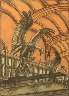 Jürg Kreienbühl Le condor 1984 Muséum d'histoire naturelle lithograph lithographie