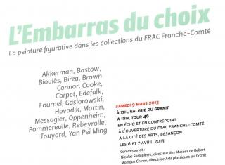 Michael Bastow au FRAC Franche-Comté