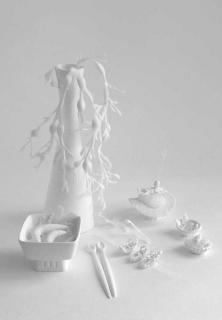 Angélique algues et insectes 2016 sculpture