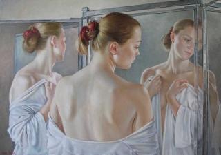 Francine Van Hove Triple Je 2008 painting peinture