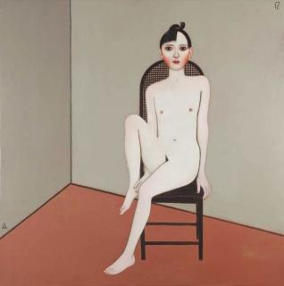 Ivan Lubennikov Loubennikov Adolescence d'Aphrodite 2017 painting peinture