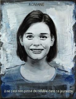 Pierre Lamalattie Romane 2014 curriculum vitae painting peinture