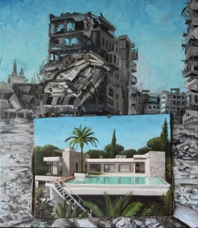 Demiak Escapism XV 2017 painting peinture