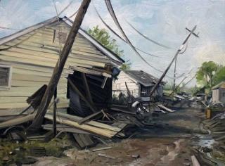 Demiak Memoirs of loss V 2015 painting peinture