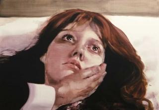 María Dávila Refoulement painting peinture