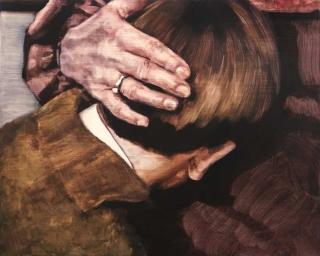María Dávila Sin título 2016 Post scriptum painting peinture