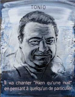 Pierre Lamalattie Tonio 2016 curriculum vitae painting peinture