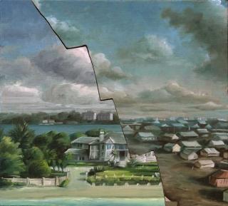 Demiak Escapism VII 2017 painting peinture