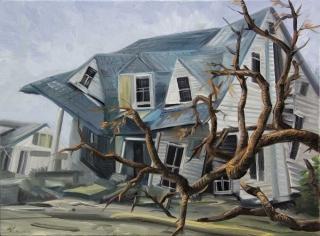 Demiak Memoirs of loss IX 2015 painting peinture