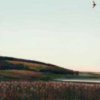 Ivan Lubennikov Loubennikov Coucher de soleil 2017 painting peinture
