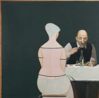 Ivan Lubennikov Loubennikov Le Soir 2014 painting peinture