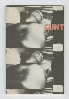 Cunt by John Giorno, front cover