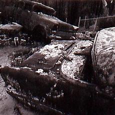 Peter Woytuk Photograhs: Los Alamos - August 2000 (A Sculptor's Perspective)