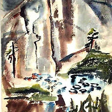 Gina Knee (1898-1982) - Works on Paper