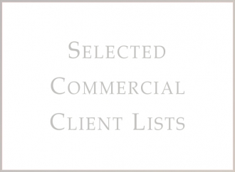 Selected Commercial Client Lists