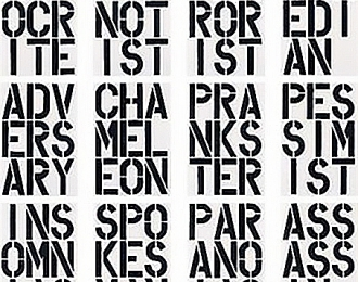 Christopher Wool Installation View Thumbnail