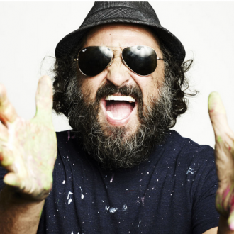 Mr. Brainwash along with Philippe Hoerle-Guggenheim Transforms New York's Edition Hotel in Three Hours
