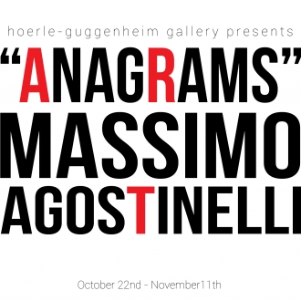 """Anagrams"" by Massimo Agostinelli coming to New York"