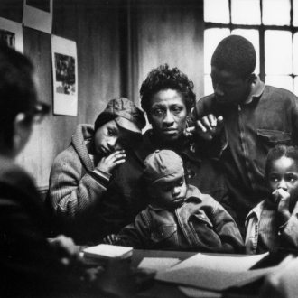 Gordon Parks: A Harlem Family 1967