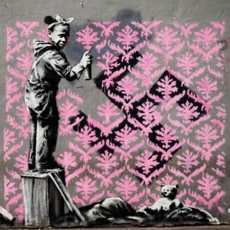 Banksy makes his mark on Paris