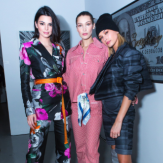 Kendall! Bella! Kaia! It Girls Gather at the Off-White x Jimmy Choo Dinner at Taglialatella Galleries