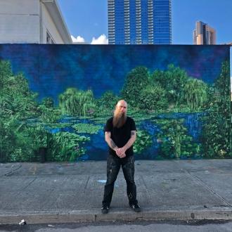 Logan Hicks Mural at Pow! Wow! Hawaii