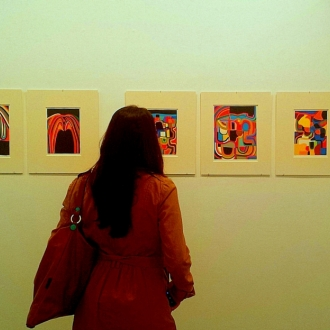 """Alberto Burri in versione intima""""The Subject of Matter"""" alla Ierimonti Gallery di New York"""
