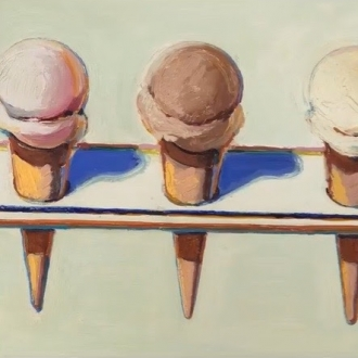 Conversation between John Berggruen and Kathryn Widing on Wayne Thiebaud