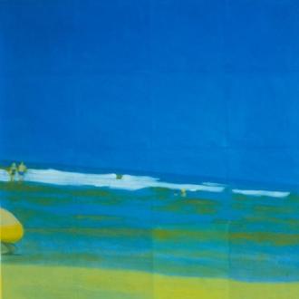 Isca Greenfield-Sanders | Sky of Blue, Sea of Green