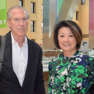 JAMES CARPENTER & TOSHIKO MORI IN CONVERSATION ABOUT HAYSTACK